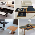 Space Saving Table by Sculptures-Jeux