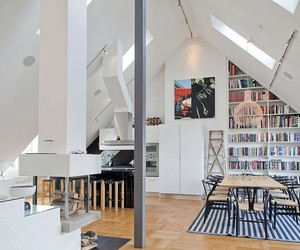 Spacious, Exquisitely Adorned Loft in Ostermalm, Sweden
