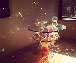 Sparkle Palace Geometric Table