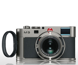 Special Edition Leica M9 Titanium by car designer
