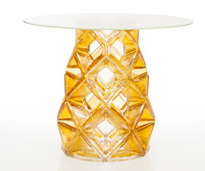 Homune Table by Michael Young and Lasvit Glass