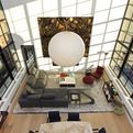 Spectacular Duplex Penthouse in New York by Cary Tamarkin