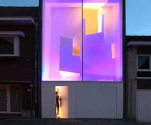 Spectacular Light Show at Night in Brussels Home
