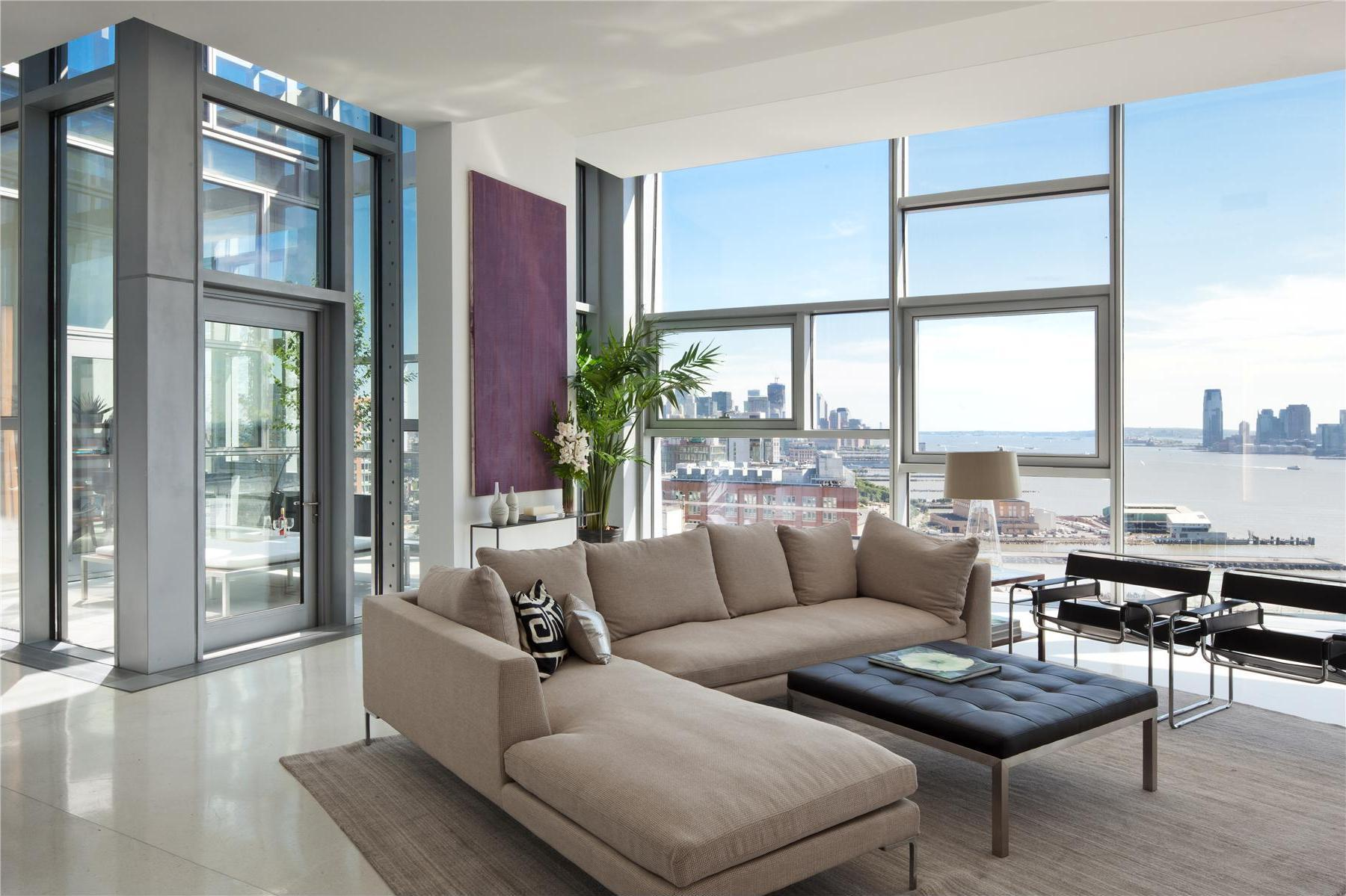 Spectacular penthouse in chelsea for New york city luxury apartments