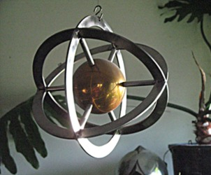 Sphere with X-Y-Z-Axis