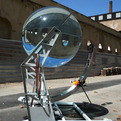 Spherical Glass Solar Energy Generator