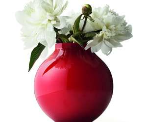 Spherical Hand-blown Glass Vase by Menu