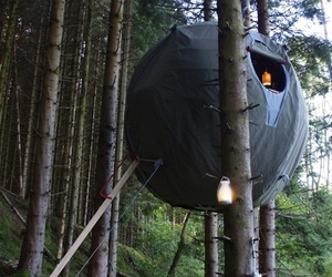 Spherical Tent For The Forest