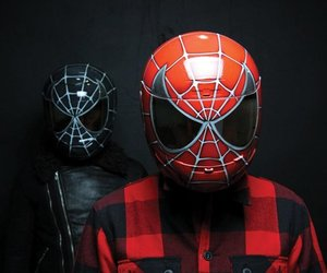 Spiderman Motorcycle Helmet