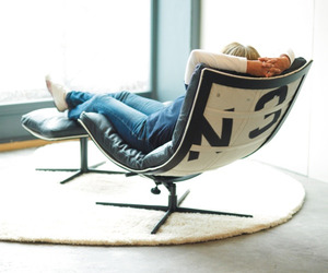 Spinnaker, Chair Made From Recycled Boat Sails