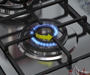 Spiral Burner Cooktop by Alireza Alavi