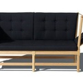 Spoke-Back Sofa by Borge Mogensen