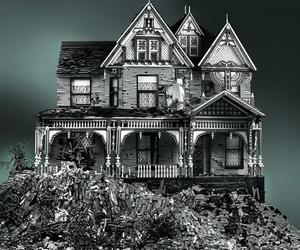 Spooky Victorian LEGO Homes by Mike Doyle
