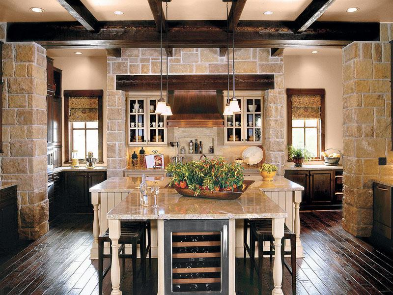 Before And After This Renovated Ranch Kitchen Beautifully Blends Rustic With Modern: Texas Ranch Style Home By Jefferson Christian Custom Homes