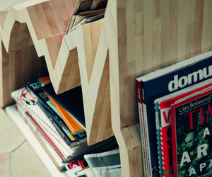 Spread 10Y Magazine Rack by Studio Inesistente