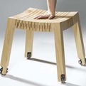 Spring Wood : Wooden Stools by Carolien Laro