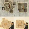 Squaring | Movable Bookshelf by Sehoon Lee