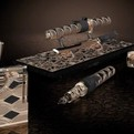 ST DuPont Luxury Samurai Pen and Lighter Set