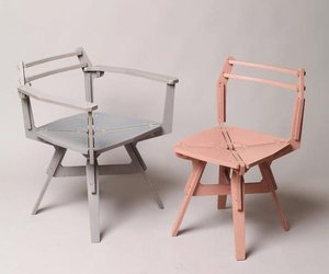 'Stack' Flat-pack Furniture Series by Konstantin Achkov