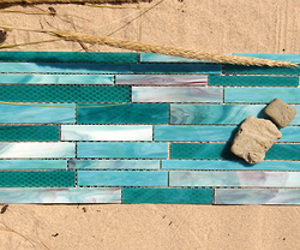 Stained Glass Tile from Maestro Mosaics