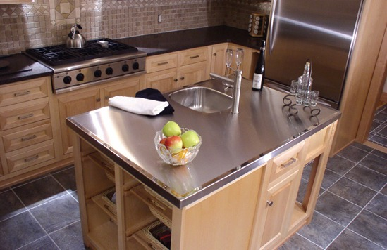Stainless Steel Countertop Four Seasons Metals