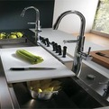 Stainless Steel Kitchen Cabinet by Elektra Ernestomeda