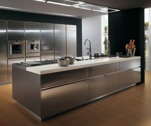 Stainless Steel Kitchen from Ernostomeda