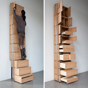 Staircase A Space Saving Storage Design By Danny Kuo