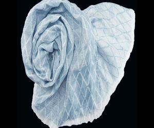 Stanley Lewis Monroe Pale Blue Scarf