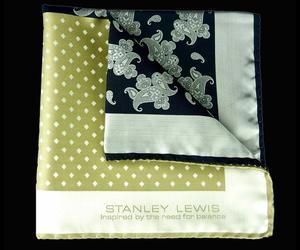 Stanley Lewis Pocket Squares