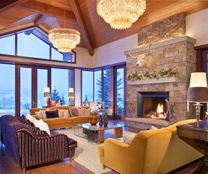 Star Mesa Residence in Aspen by Charles Cunniffe Architects