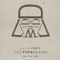 Star Wars Typography Posters