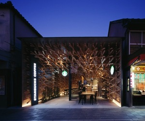 Starbucks Coffee By Kengo Kuma & Associates