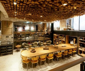 Starbucks 'The Bank' Concept Store in Amsterdam
