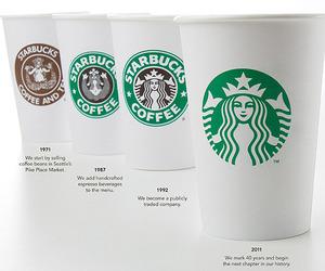 Starbucks Unveils New Logo