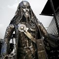 Steampunk Jack Sparrow Sculpture