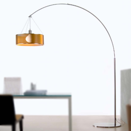 Steel arc floor lamp mozeypictures Image collections