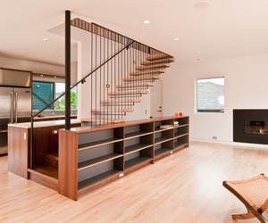 Steel & Wood Stair by BUILD LLC