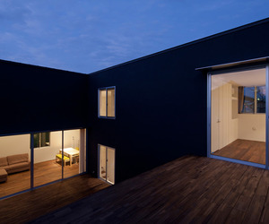 Stepped Terrace House
