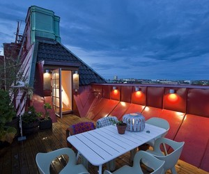 Östermalm penthouse with fabulous rooftop deck