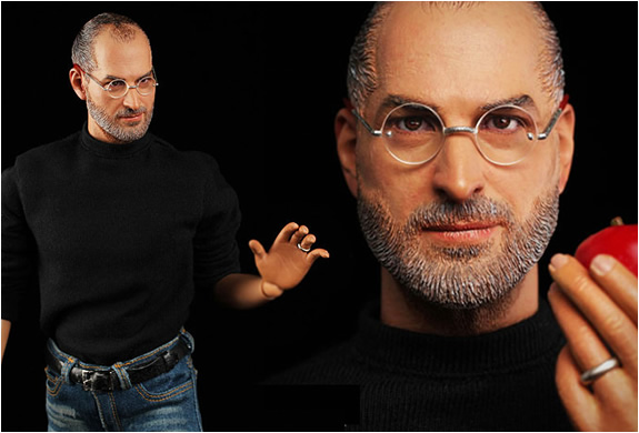 Steve Jobs Hyper Realistic Collectible Figure