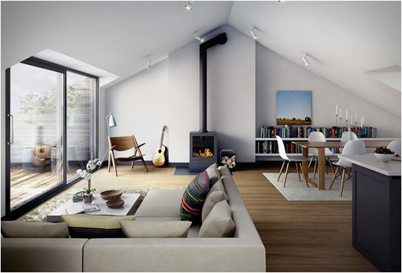 Straw Hat Factory Apartments Sweden - Sleek-and-beautiful-apartment-in-sweden