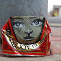 Street Artist Takes Recycling to New Heights