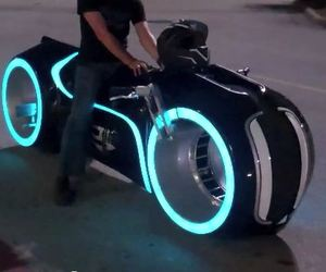 Street Legal Tron Lightcycle