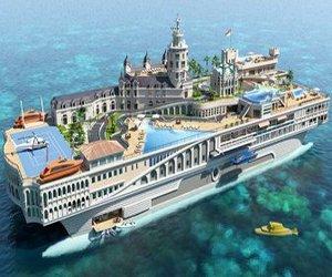 Streets of Monaco yacht