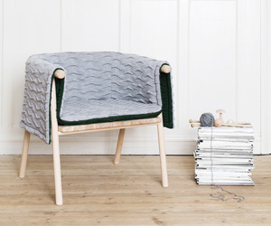 Strik armchair by Kristina Kjær