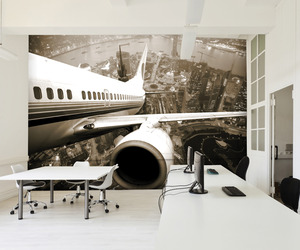 Striking Large Scale Wall Murals