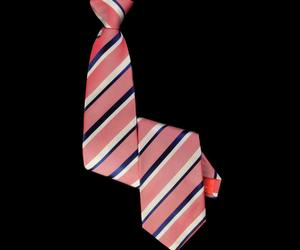 Striped 'Denim' Red Tie