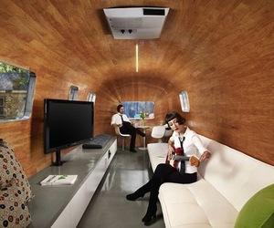 Stubbs Greenroom by Baldridge Architects