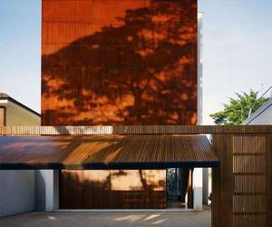 Studio mk27 Corten House